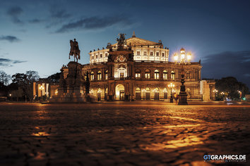 Semperoper Sunset