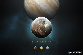 The Solar System Ganymede