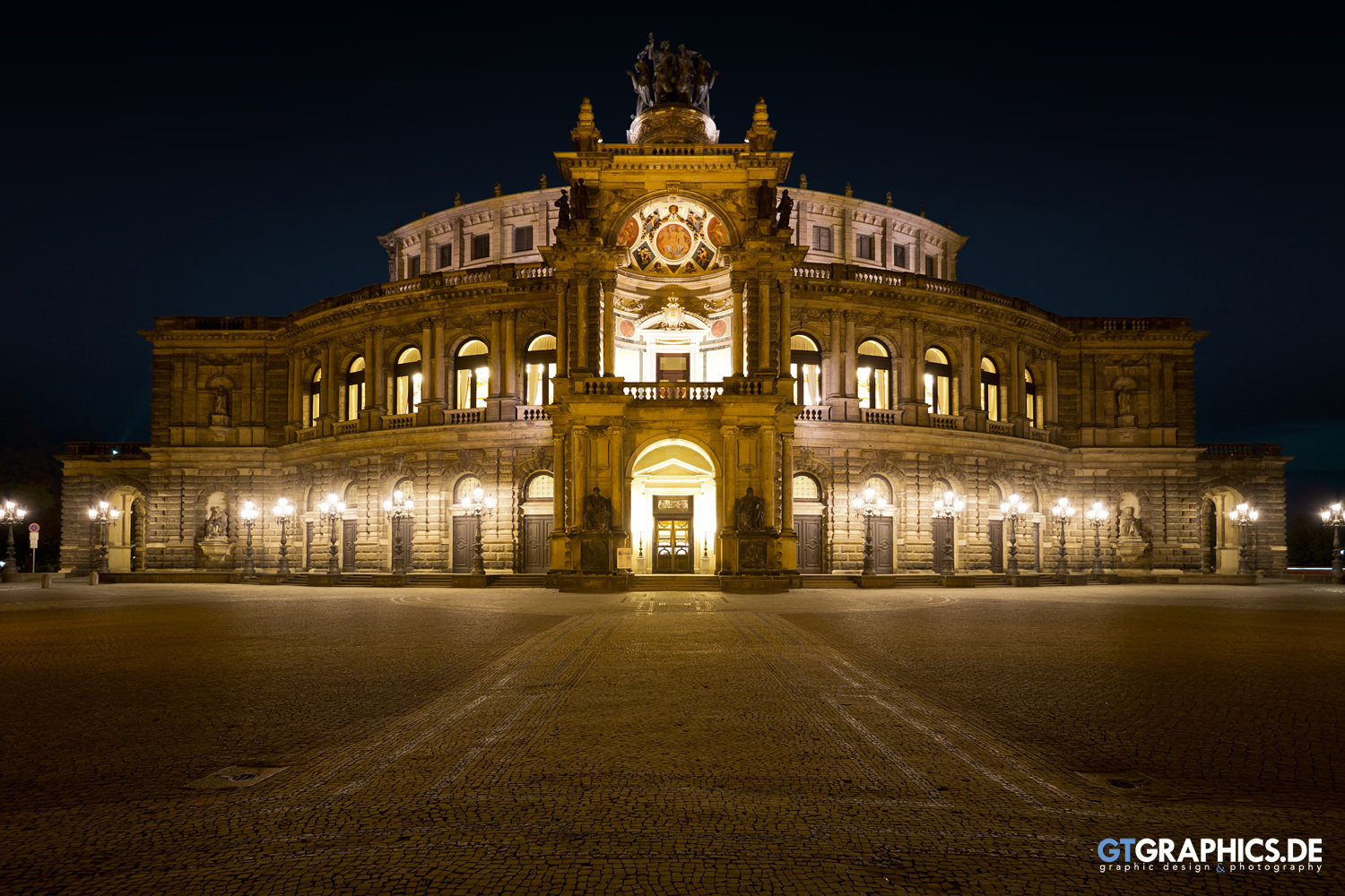 Semperoper Panorama