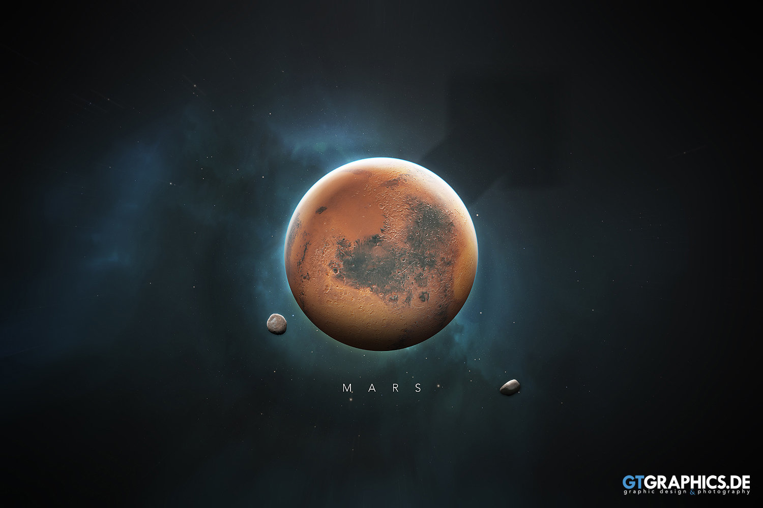 The Solar System Mars · Artworks · GTGRAPHICS