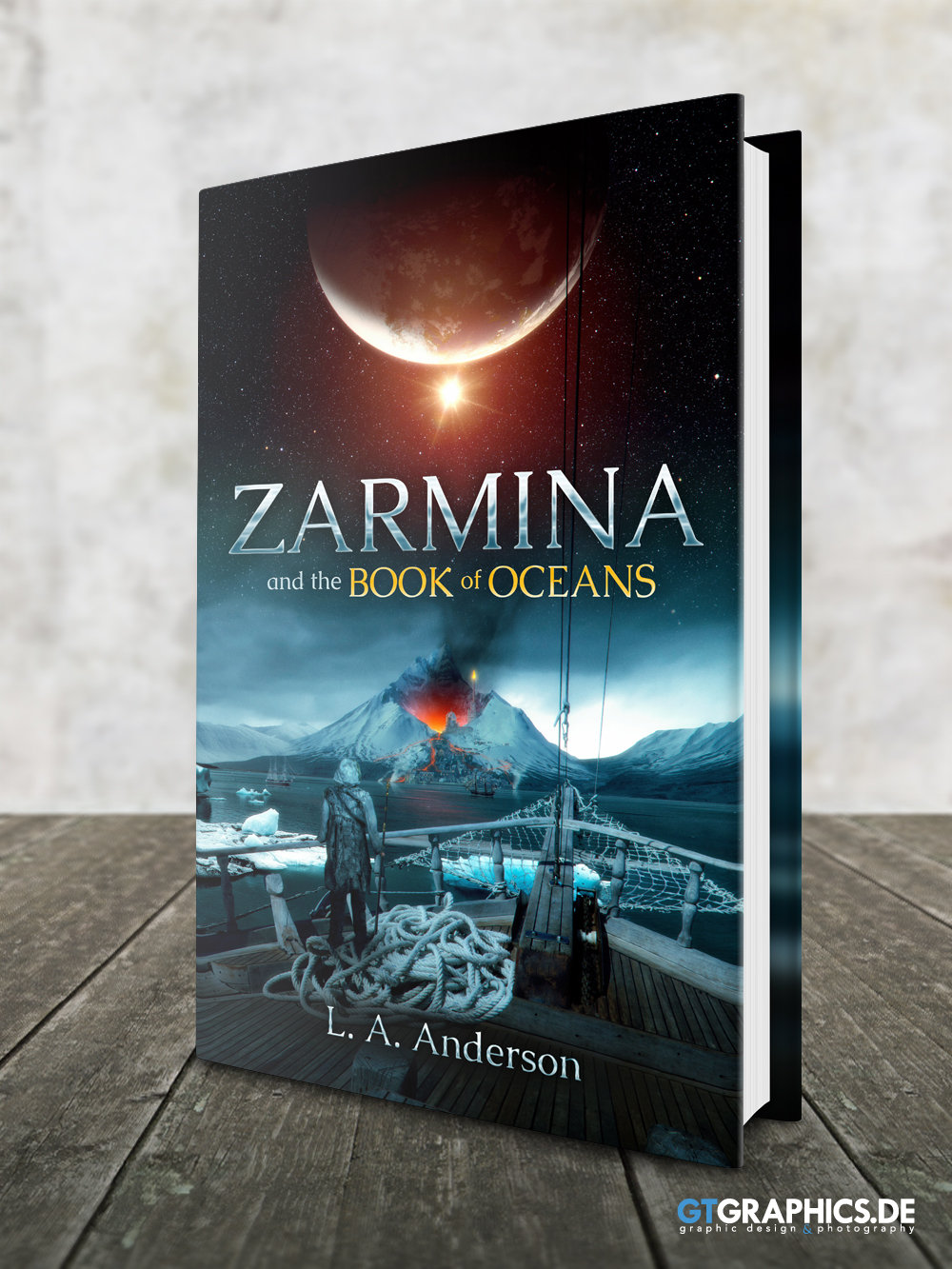Books Holzboden Zarmina Front