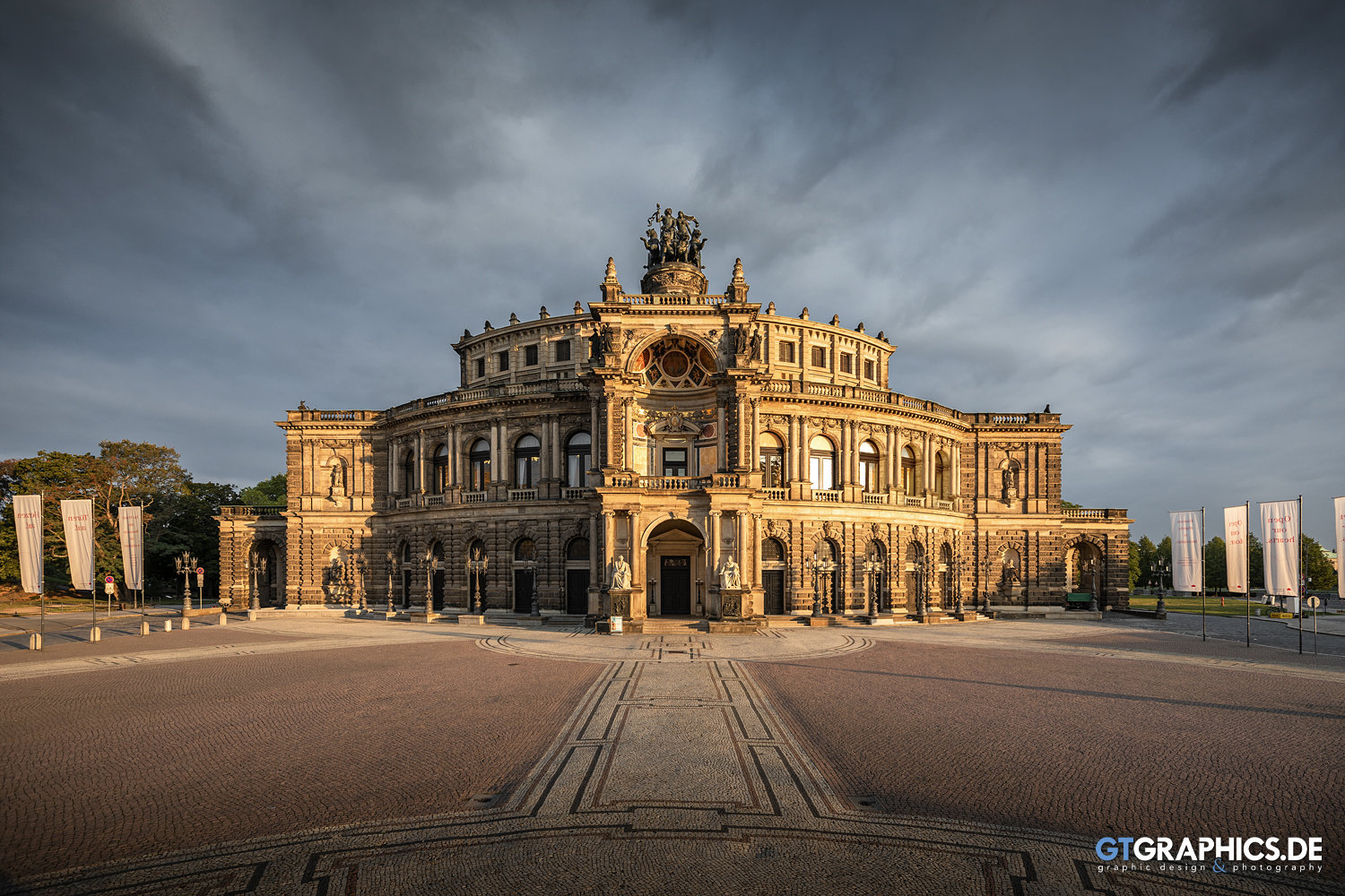 Semperoper Sunrise