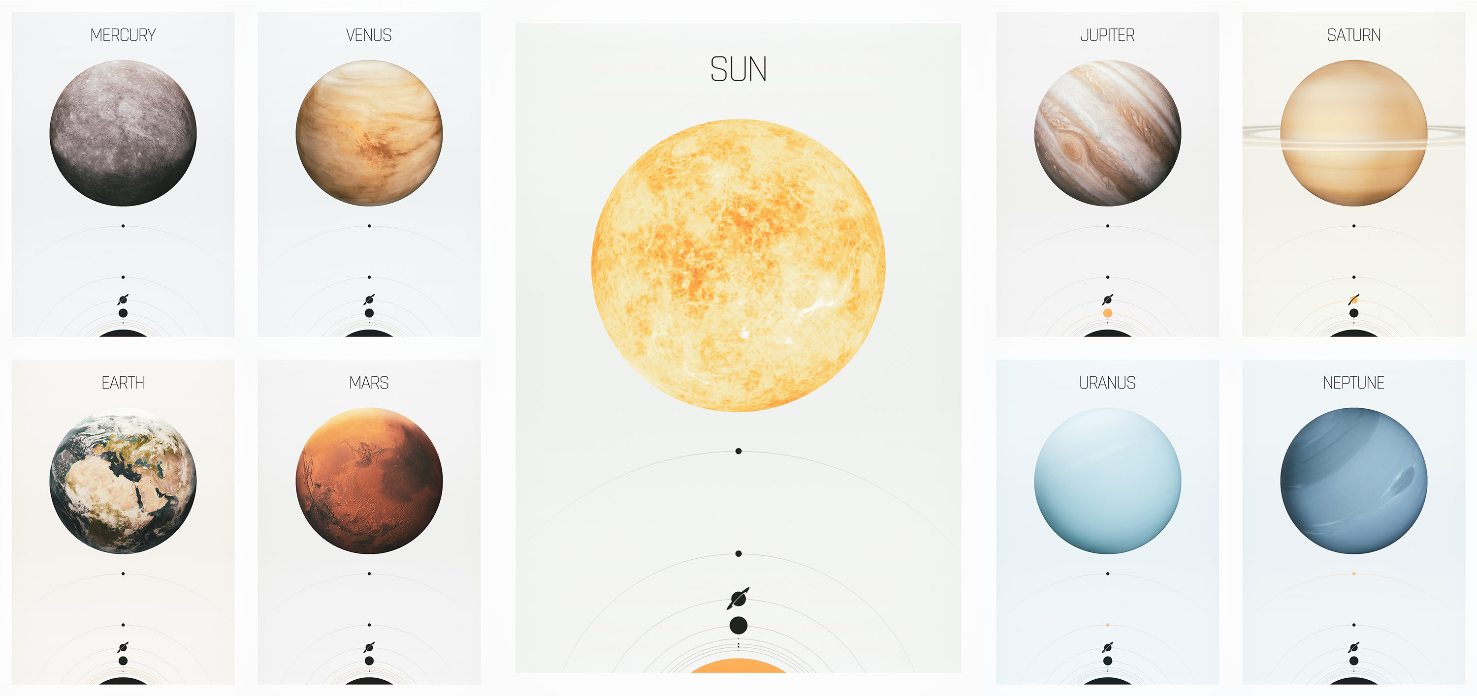 Solar System Light Collection