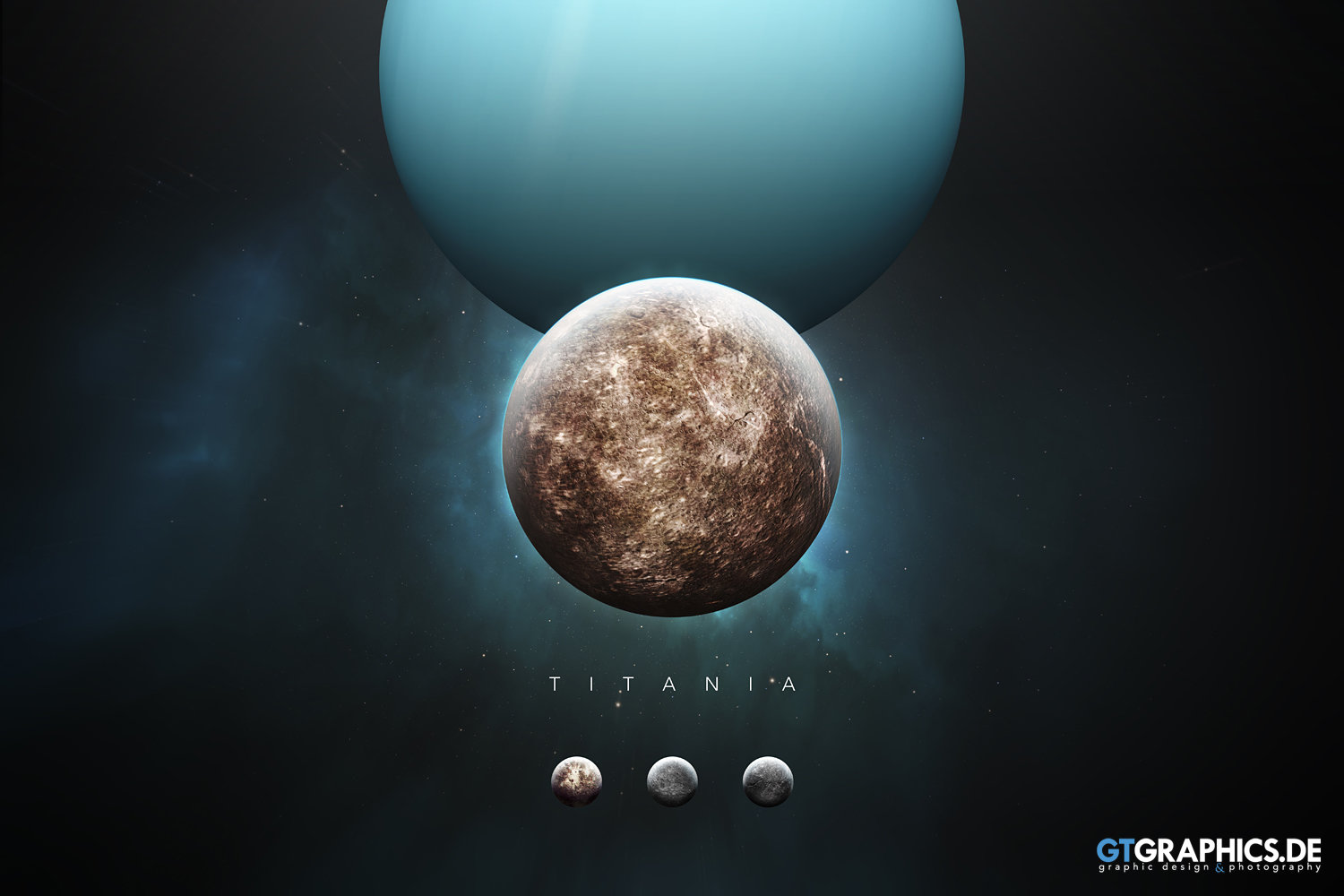 The Solar System Titania