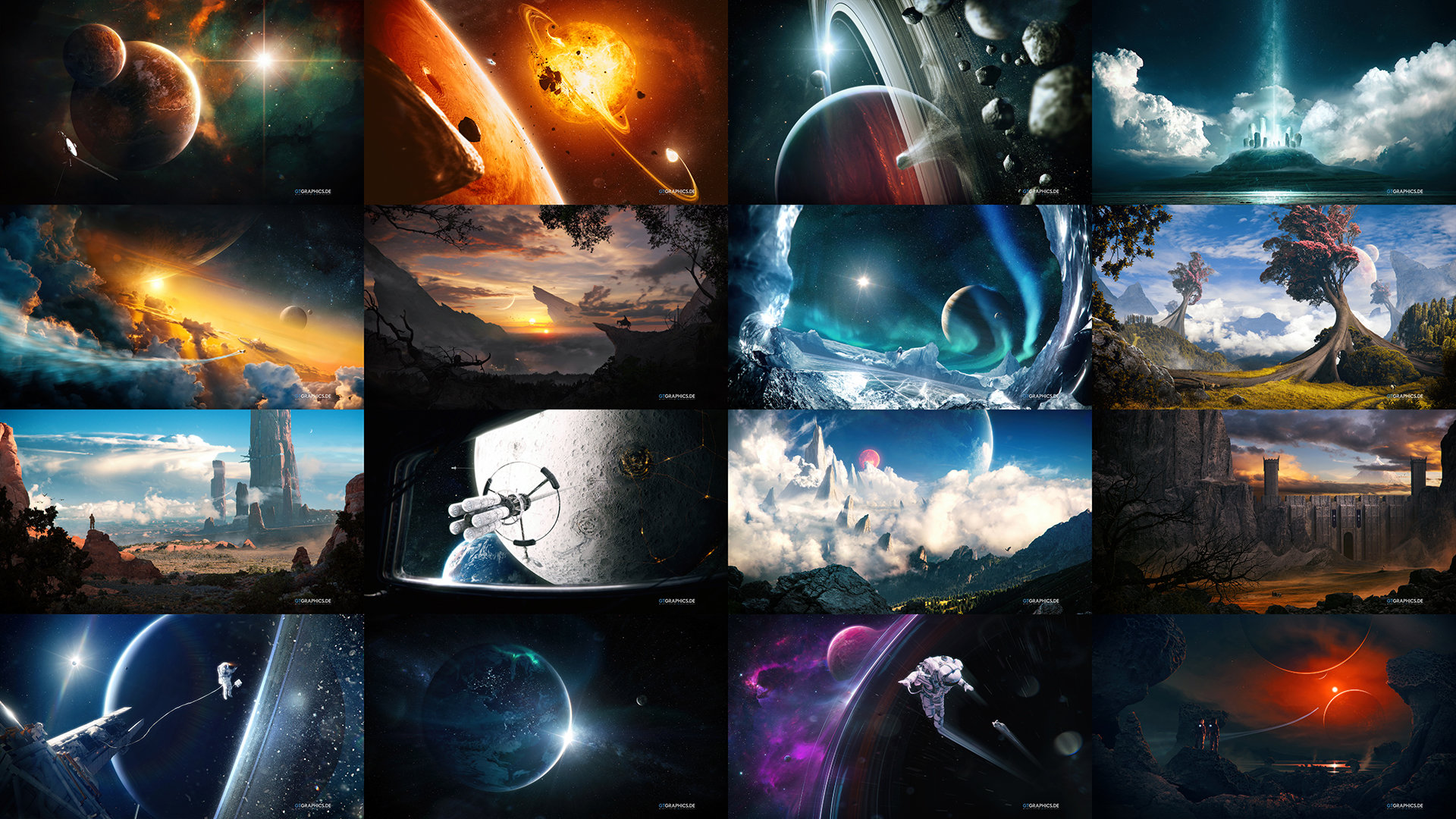 Windows 7/8/10 Theme VI · Miscellaneous · Showcase · GTGRAPHICS
