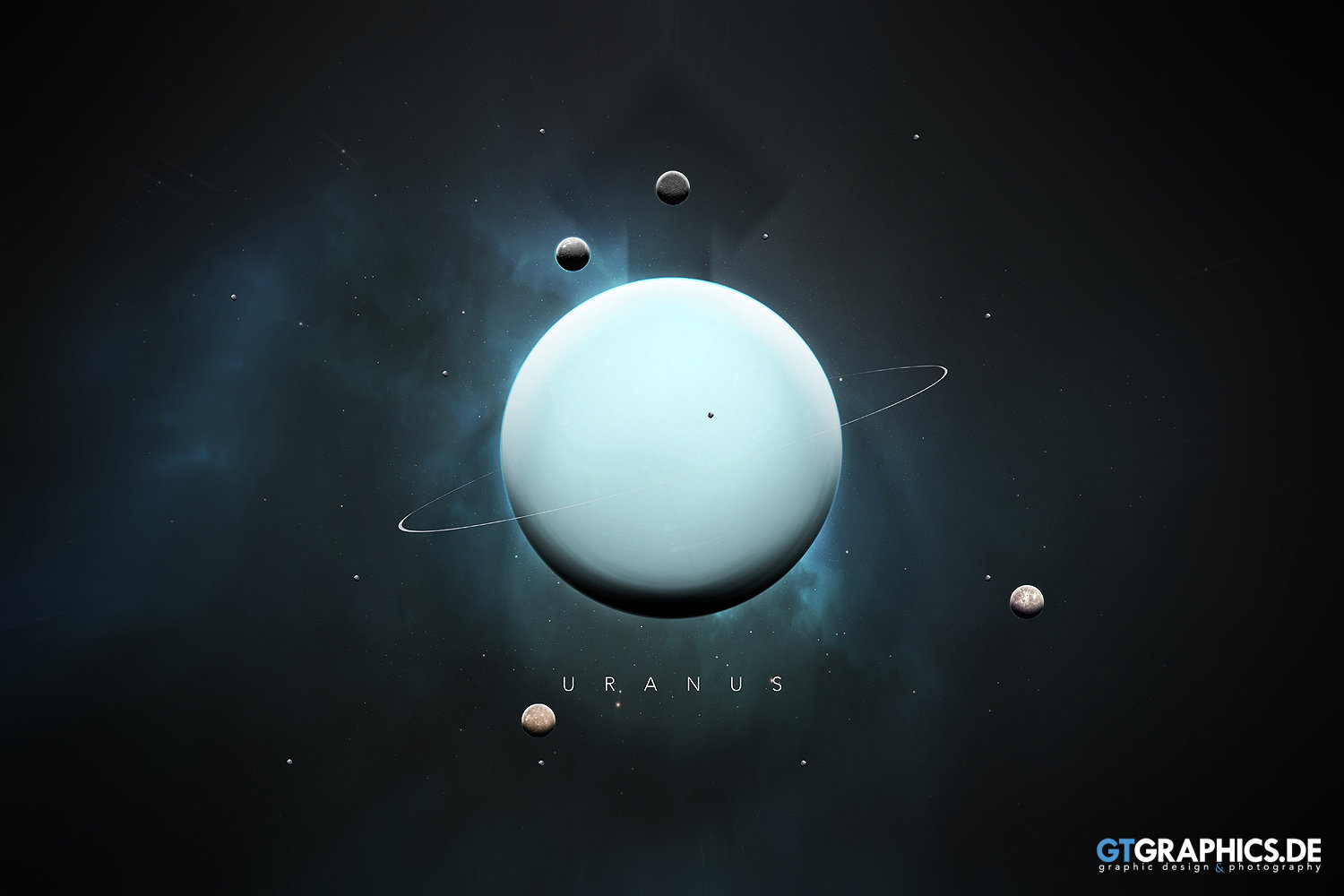 The Solar System Uranus